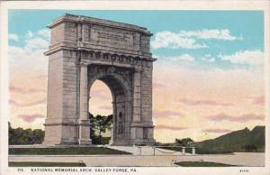 Pennsylvania Valley Forge National Memorial Arch