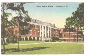 Exterior, Moore County Hospital, Pinehurst. North Carolina,  00-10s