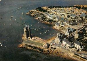 France Saint Malo Saint Servan La Tour Solidor Tower Boats 1971 Postcard