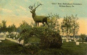 PA - Wilkes-Barre. Elks Rest, Hollenbach Cemetery