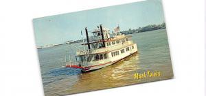 Br43712 Ship Bateaux The M V Mark Twain New orleans Louisiana