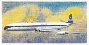 Trade Cards Brooke Bond Tea Transport Through The Ages No 42 Turbojet Airliner