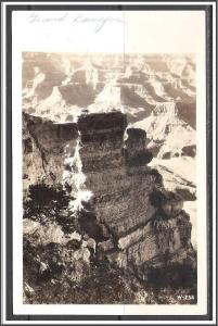 Arizona Grand Canyon 1944 RPPC