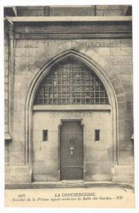 La Conciergerie, Paris, France, 00-10s : Guichet de la Prison ayant sur la Sa...