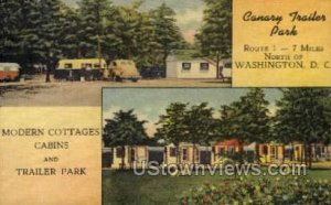 Canary Trailer Park, District Of Columbia