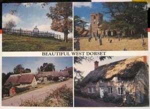 England Beautiful West Dorset Multi-view - unposted