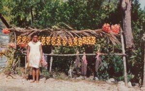 JAMAICA , B.W.I. 1950-60s; Little Fruit Vendor