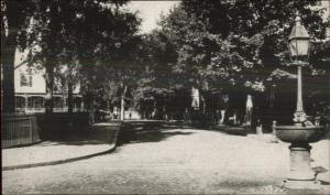 Warren RI Miller St. 1947 Postcard