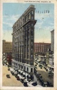 Flat Iron Building Atlanta GA 1924