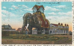 ATLANTIC City , New Jersey , 1910s ; Elephant Hotel : #3