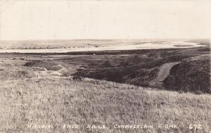 RP: Missouri River Hills , CHAMBERLAIN , South Dakota , PU-1936