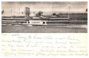 New York , Steamer Albany , Hudson River Dayline