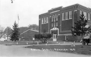 Auto Centuria Wisconsin Public School 1950s RPPC Photo Postcard Pearson 215