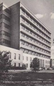 Maryland Hagerstown Washington County Hospital Artvue