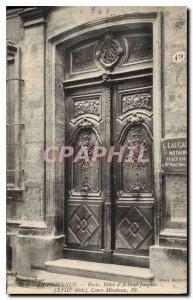 Old Postcard Aix en Provence Gate Hotel Arbaud Jouques Cours Mirabeau
