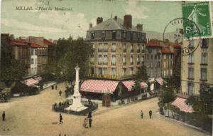 CPA MILLAU - Place du mandaroux (148037)
