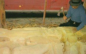 Indian Totem carving , PRINCE RUPERT , B.C. , Canada , 50-60s
