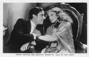 Cinema Moviestar Ramon Novarro and Dorothy Jordan Call of the Flesh Actors