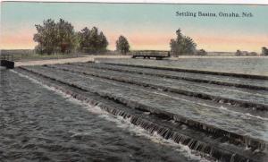 OMAHA, Nebraska, 1900-10s; Settling Basins