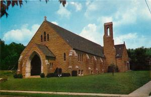 Portsmouth Ohio~Manly Methodist Episcopal Church~1956 Postcard