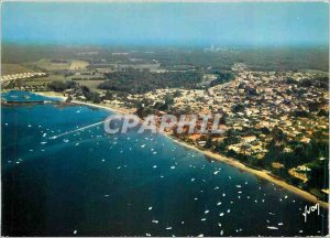Postcard Modern Colors and Light of France Arcachon Ares (Gironde) General view