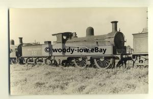 ry697 - Southern Railway Engine no 551 at Eastleigh in 1932 - postcard