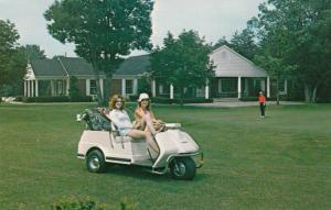HARRISBURG , Pennsylvania, 50-60s ; Golf Cart, Blue Mountain Golf Course