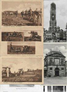 Netherlands - Oldebroek Utrecht Middelburg And More Postcard Lot of 24 01.02