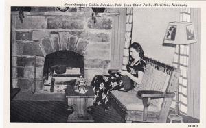 MORRILTON, Arkansas, 1910s ; Housekeeper, Petit Jean State Park Cabin