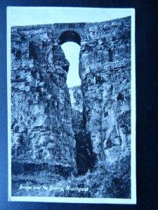 Derbyshire Wirksworth MIDDLEPEAK Bridge Over The Quarry - Old Postcard