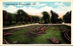 Tennessee Memphis Sunken Gardens and Speedway