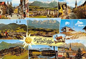 Gruesse aus Kitzbuehel Tirol Hauptplatz Bergstation Am Hahnenkamm