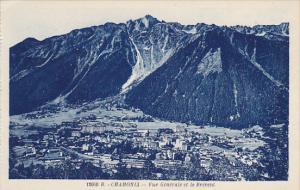 France Chamonix Mont Blanc Vue Generale Le Brevent