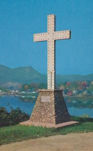 North Carolina Lake Junalaska The Cross 1978