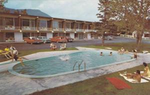 Swimming Pool,  Motel Le Fani, Carleton-Sur-Mer, Quebec,  Canada,  PU_1988