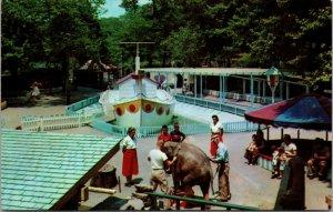 1950s Amusement Park Children's Zoo Highland Park Pittsburgh Pennsylvania