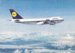 The Lufthansa B 747.,  Airplane,  50-70s