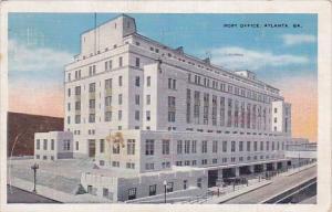 Post Office Atlanta Georgia 1934
