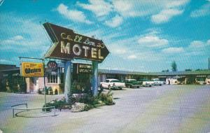 Missouri Columbia El Don Motel 1958