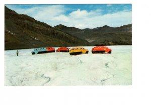 Touring by Snowmobiles, Athabasca Glacier, Alberta