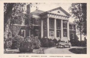 Virginia Charlottesville  Old Ivy Inn University Station Albertype
