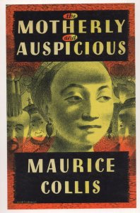 The Motherly & Auspicious Maurice Collis 1943 Book Postcard