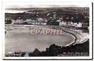 Old Postcard Saint Jean de Luz The Beach Tower taken Bordagain