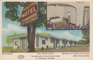 NIAGARA FALLS, Ontario, Canada, 1900-1910's; Hollywood Motel