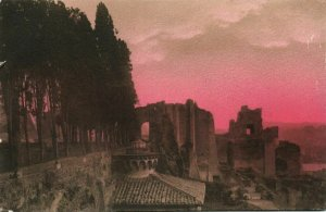 italy, ROMA ROME, Palatino dalla Villa Mills (1910s) Postcard