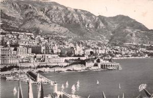 BR20514 Monte carlo vue geenrale et les regates Monaco