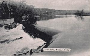 The Falls, Lisbon, New Hampshire, Early Postcard, Unused