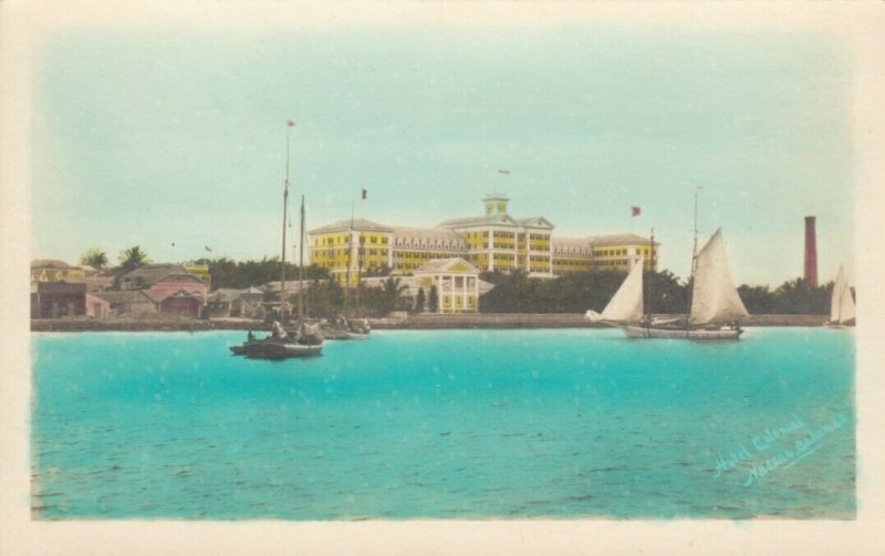 RP: Hotel New Colonial - Nassau , Bahamas , 1910s #2