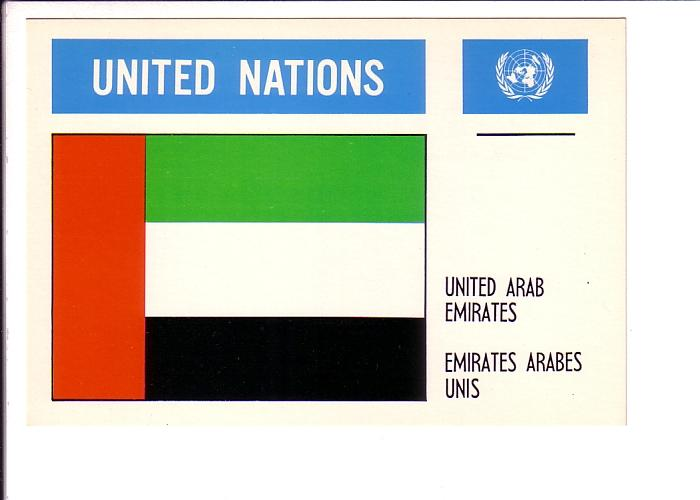 United Arab Emirates, Flag, United Nations
