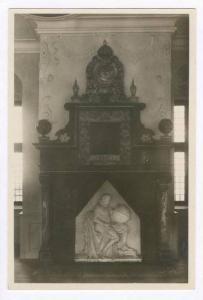 RP  Kronberg , Denmark, 10-20s  Interieur fra Tyche Brahe's Sal
